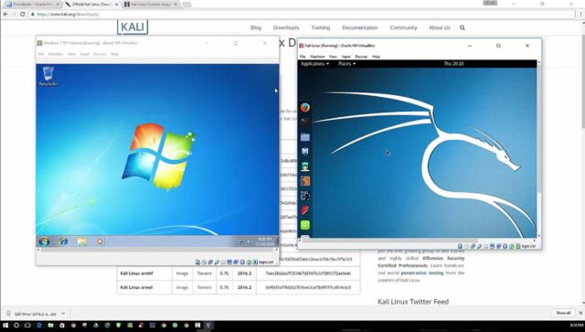 How to Build a Hacking Lab with VirtualBox-Windows 7 and Kali Linux