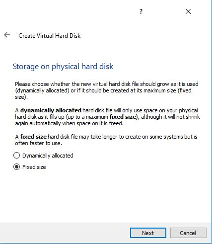 How to Build a Hacking Lab with VirtualBox-kali fixed hard disk