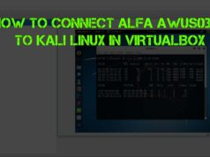 How to Connect ALFA AWUS036H to Kali Linux in VirtualBox
