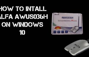 How to Install ALFA AWUS036H on Windows 10