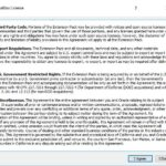 How to Install VirtualBox Extension Pack-license agreement