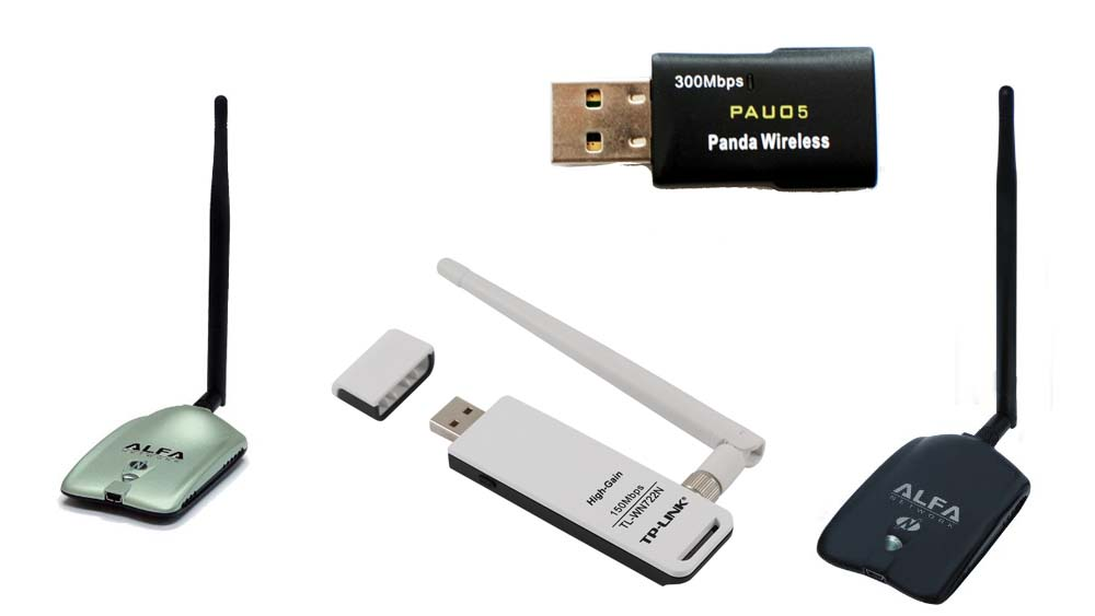 Kali Linux USB WiFi Compatible Adapters-compatible chipsets