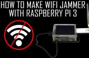 How to make a WiFi Jammer with Raspberry Pi 3