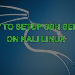 How to Setup SSH Server on Kali Linux
