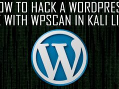 How to Hack a WordPress Site with WPScan in Kali Linux
