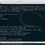 Metasploit Powershell Shellcode Injector Hack-commands and attack export location