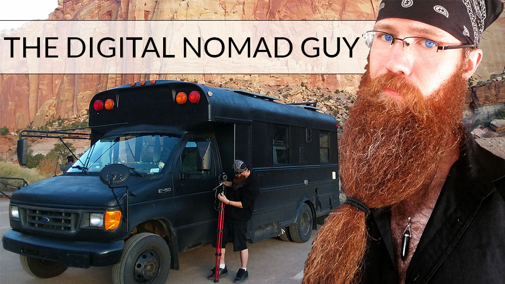The Digital Nomad Guy - Just a guy living life on the road creating content as I go