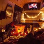 movie night living vanlife