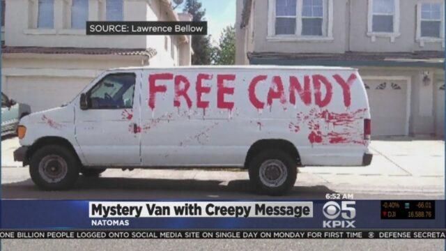 free candy vanlife halloween activities 2020