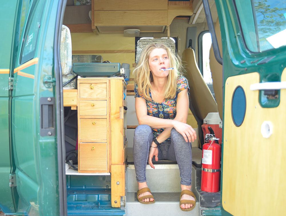 matt foley living in a van down by the river